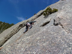 Rock Climbing Photo: Pitch 2 from White Whale belay.