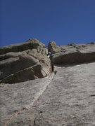 Rock Climbing Photo: Good advice in the comments,  link P2 with the sta...