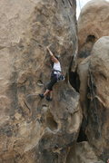 Rock Climbing Photo: Agina on Rise and Devour