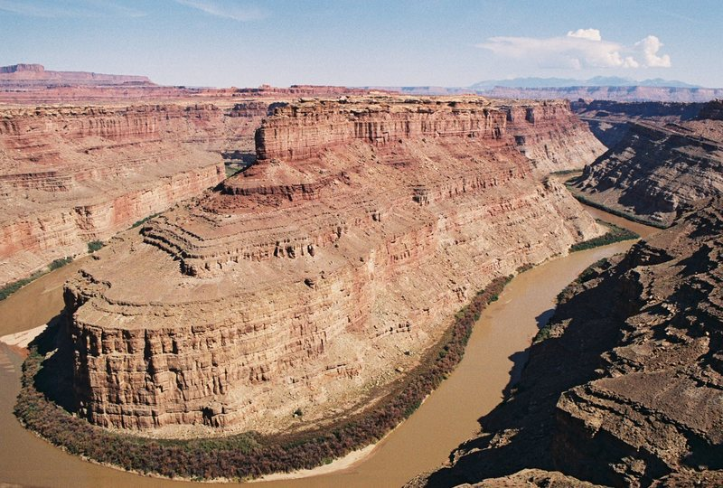Green / Colorado River confluence, Canyonlands, Utah