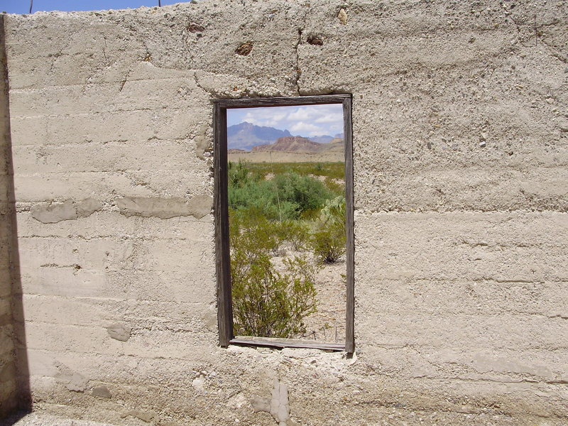 Rock Climbing Photo: Chihuahuan Desert, Big Bend, Texas