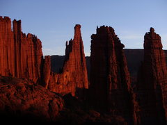 Rock Climbing Photo: Fisher Towers, Utah