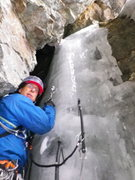 Rock Climbing Photo: Frank got another photo of Eric about to start the...