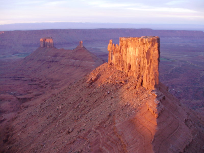 Rock Climbing Photo: Castle Ridge, Utah