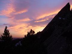 Rock Climbing Photo: Third Flatiron, Boulder, Colorado