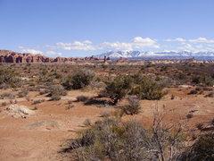 Rock Climbing Photo: Arches, Utah