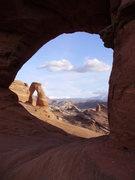 Rock Climbing Photo: Delicate Arch, Utah