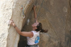 Rock Climbing Photo: Agina on Necessary Evil