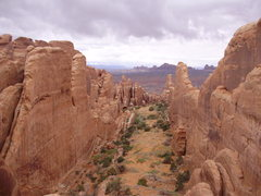 Rock Climbing Photo: Fiery Furnace, Arches, Utah