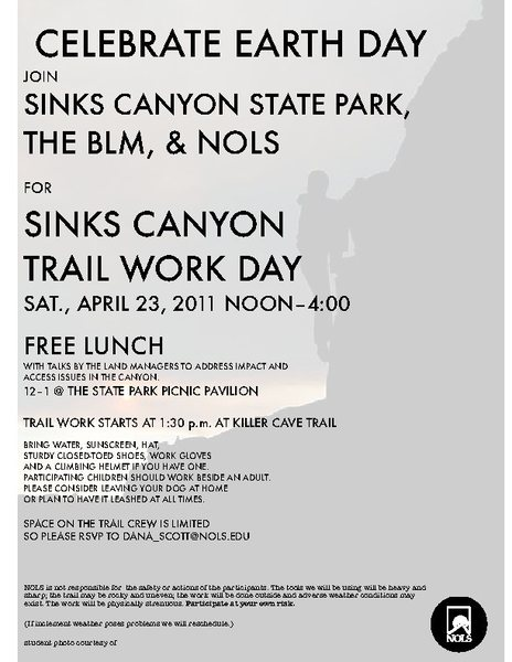 Earth Day Flier.