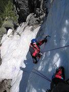 Rock Climbing Photo: Mariusz warm up before Mt.Rainier, 06-29-10. Photo...
