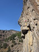 Rock Climbing Photo: The upper goodness.
