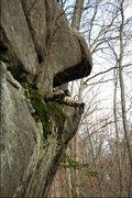 Rock Climbing Photo: classic mantle