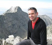 Rock Climbing Photo: Ellingwood Point Summit, Little Bear in the backgr...