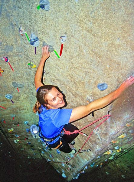 Rock Climbing Photo: yay climbing even in the gym