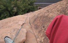 Rock Climbing Photo: Wall St, Moab, UT