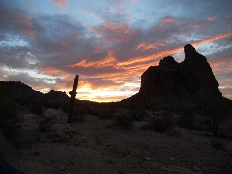 Rock Climbing Photo: Courthouse at dusk