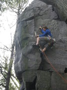 Rock Climbing Photo: Wondering if a #2 Ball Nut can take a fall.