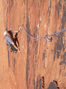 Rock Climbing Photo: Very cool edging!