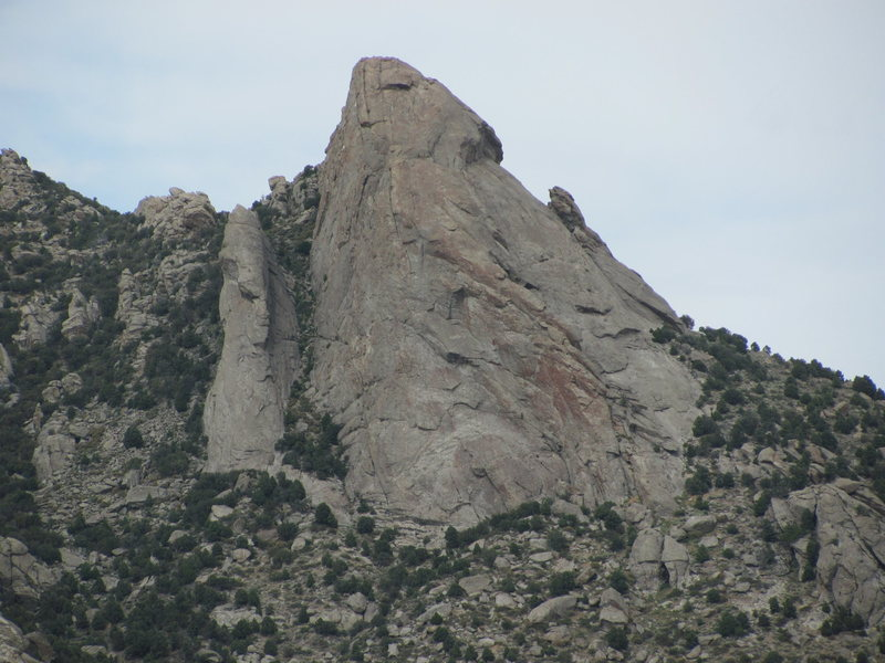 Rock Climbing Photo: Jackson's Thumb and Steinfells Dome