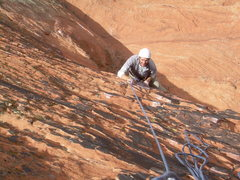 Rock Climbing Photo: Craig experiencing life on the edge!