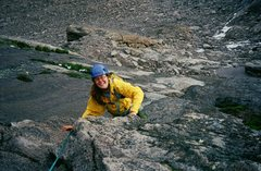 Rock Climbing Photo: North Face, Longs Peak, CO Summer 2010