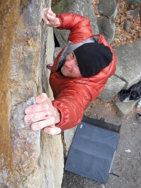 Rock Climbing Photo: Jekich on Suzie A.