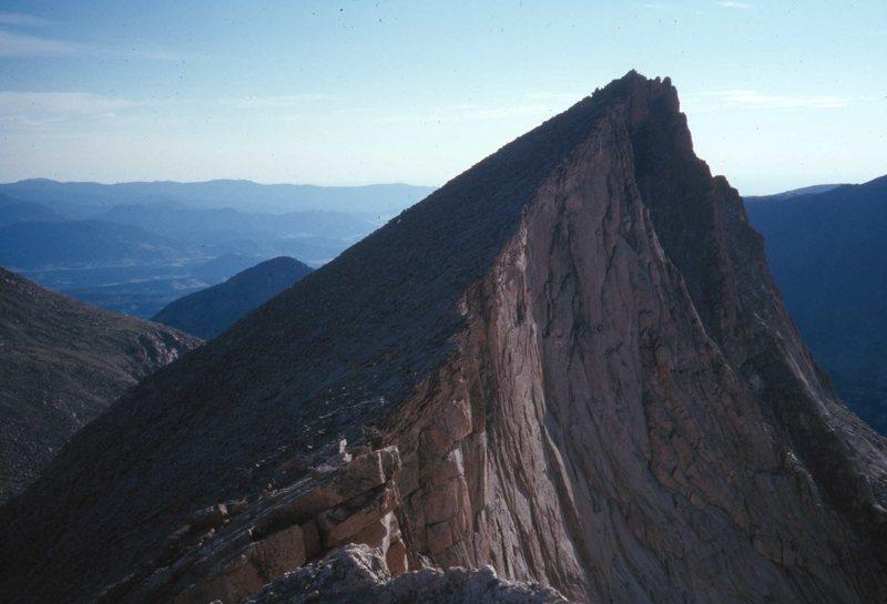 The sw ridge of Arrowhead.
