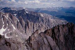 Rock Climbing Photo: Starting the Powell-Thatchtop ridge traverse, enjo...