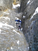 Rock Climbing Photo: More of that early BBB pitch