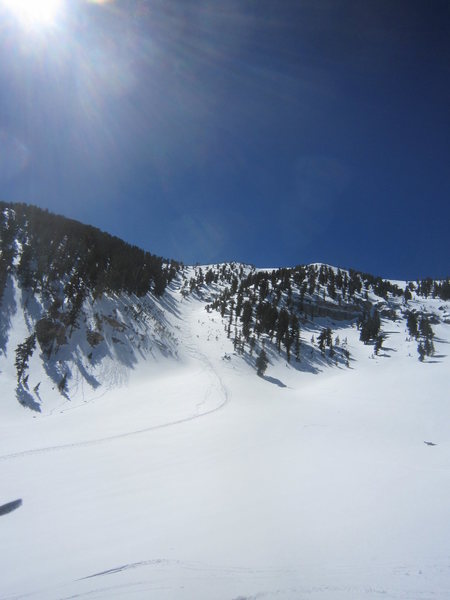 Rock Climbing Photo: ascent gully