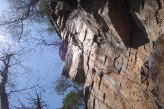 Rock Climbing Photo: Blood, Sweat, and Chalk.  Fun stuff.