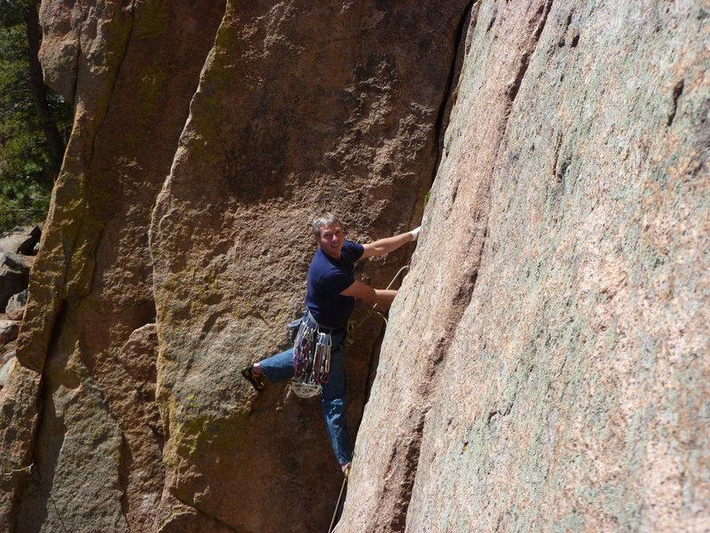 Rock Climbing Photo: Delight!