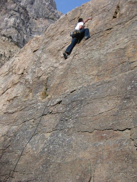working through the crux