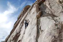 Rock Climbing Photo: This baby is steep!  Doesn't look like it from the...
