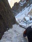 Rock Climbing Photo: Solo on the Midi 3/11