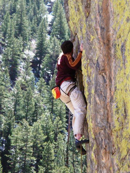 Rock Climbing Photo: Inner Gorilla.