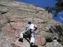 Rock Climbing Photo: Lower BB Brain with Mark.