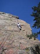 Rock Climbing Photo: Upper BB Brain, still Mark.