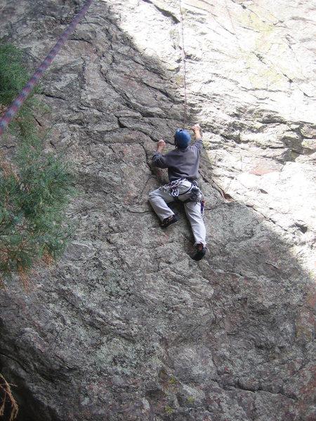 Rock Climbing Photo: BB Gun with a 1 o'clock shadow in April.