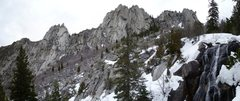 Rock Climbing Photo: This is a great view of all the towers.  This is t...