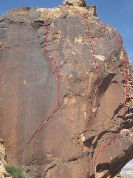 Rock Climbing Photo: Right