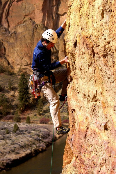 Some route at Smith Rock