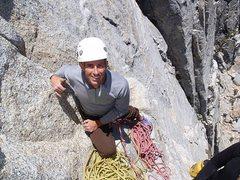 Rock Climbing Photo: Me on Whodunit