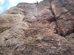 Rock Climbing Photo: Dihedrus .10b~ Shelf Road