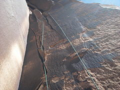 Rock Climbing Photo: twin cracks .9~ indian creek