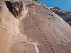 Rock Climbing Photo: the incredible hand crack .10~ indian creek