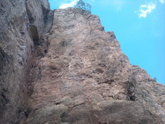 Rock Climbing Photo: Dune 5.10a~ shelf road
