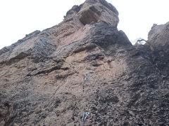 Rock Climbing Photo: dough boys .10b~ shelf road