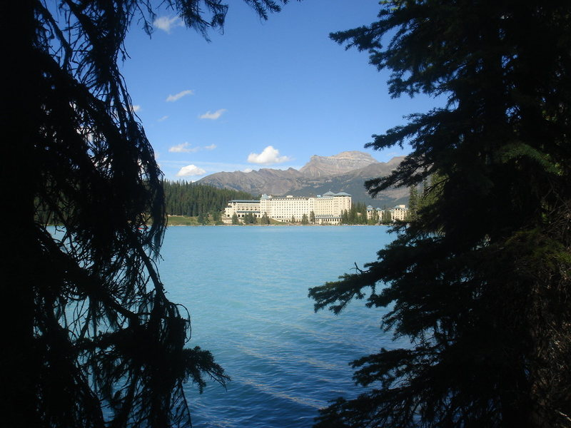 Fairmont Chateau, Lake Louise, Banff NP, Alberta<br>
